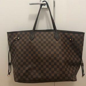 Louis Vuitton Neverfull GM Damier Tote Bag
