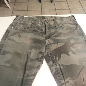 Men True Religion Jeans Camo