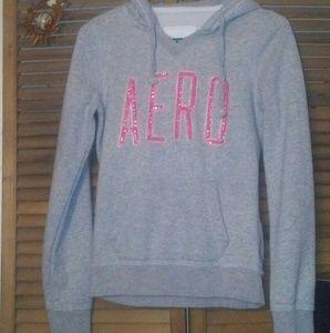 New Pink bling Aero hoody size S