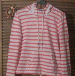 Arizona striped confetti hoody sz L