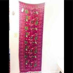 Handwoven Silk n wool shawls double sided