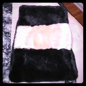 Kate Spade Faux Fur Collar Scarf