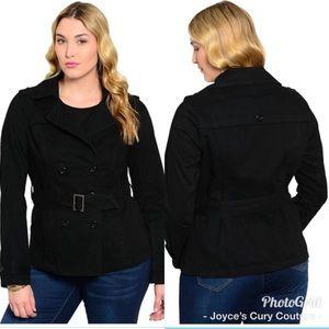 Jackets & Blazers - 🖤 PLUS SIZE PEA COAT 🖤