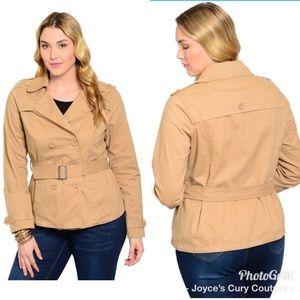 Jackets & Blazers - 💥 PLUS SIZE PEA COAT 💥