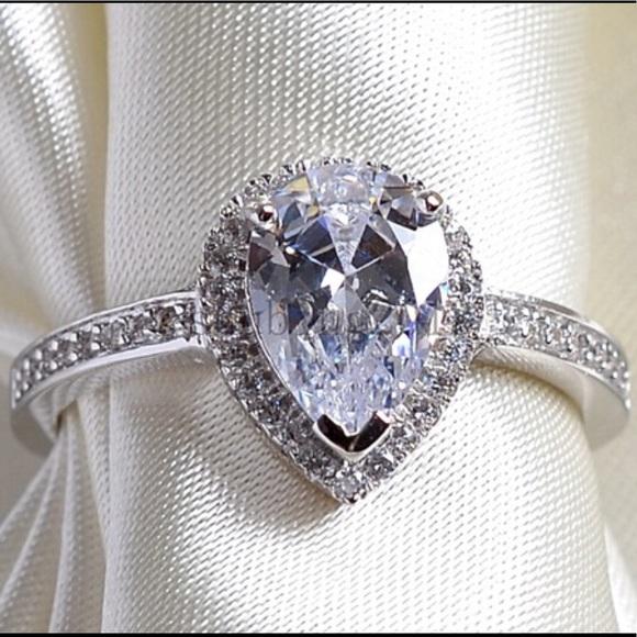a875fd56d Swarovski Elements Jewelry | Genuine Swarovski Crystals Pear Shaped ...