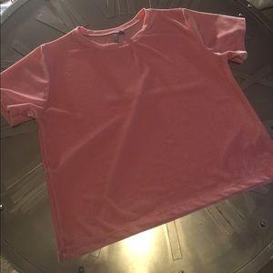 ASOS velvet t-shirt