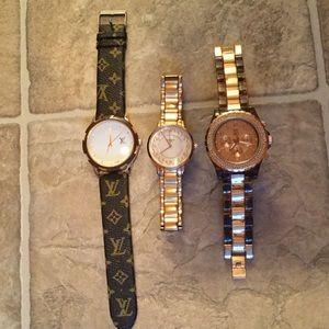 Gold watch bundle
