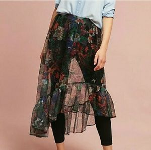 Maeve skirt with leggings