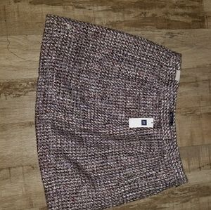Gap pink hues tweed skirt Size 10