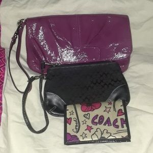2 piece  Coach bundle (poppy is sold)