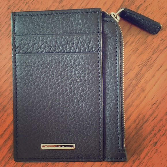 73 off ermenegildo zegna accessories mens zipper leather card ermenegildo zegna mens zipper leather card holder reheart Images