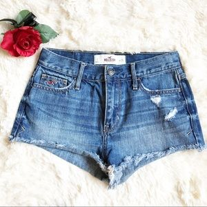 Hollister Denim Shorts. Size 25.