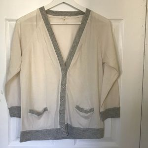 J.Crew cardigan Sweater, Size Small