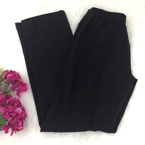 🎂George Straight Leg Elastic Waist Dress Pants