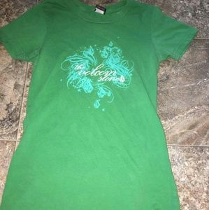 Cute green VOLCOLM tee