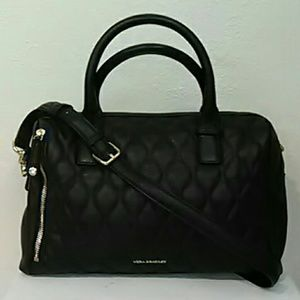 Quilted leather Marlo Satchel Vera Bradley