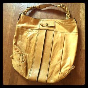 Chloe Yellow Heloise Hobo Bag