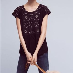 Nwt Anthropologie arcana top