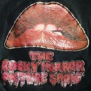 ❤VINTAGE Rocky Horror Picture Show Crop Top