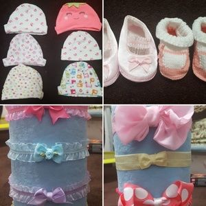 Baby Girl Lot of Miscellaneous Accessories