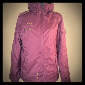Oakley Jacket- Women's- Medium- Color: Wine 🍷