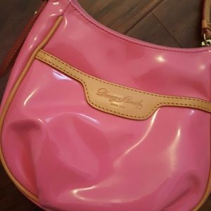 Dooney & Bourke pink patent purse