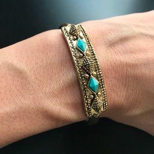 Lucky Brand Tortoise Adjustable Cuff Bracelet