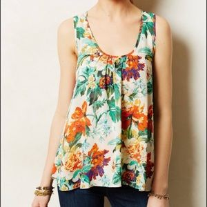 Meadow Rue anthropologie flow top size small