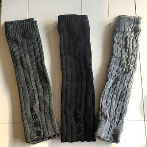 Leg Warmers - Set of 3
