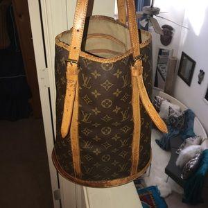Authentic Louis Vuitton Large Bucket Bag