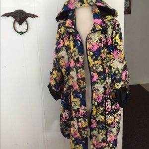amazing floral print jacket size 12 SIMPLY BE