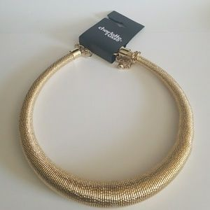 new gold necklace