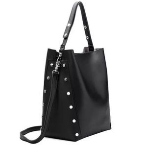 Melie Bianco Tote Bag with Stud details