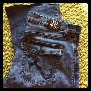 Rock & Republic boot cut jeans sz 16