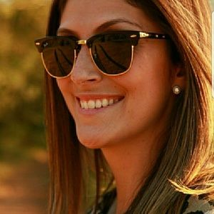 Ray ban clubmaster tortoise brown