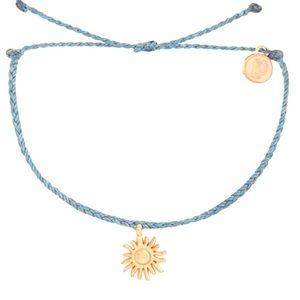 ⭐️NEW PURAVIDA Rose Gold sun Periwinkle bracelet