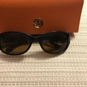 Tory Burch sunglasses with case!