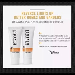 Rodan and fields Reverse dual active brightening