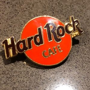 Original authentic 80's Hard Rock Cafe Pin