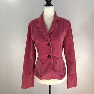 GAP Pink Corduroy Jacket- Sz 8 NWOT