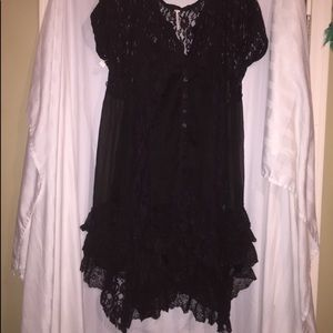 Witchy Black Lace Dress 🔮