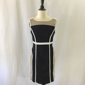 Worthington slimming color block sheath size 4
