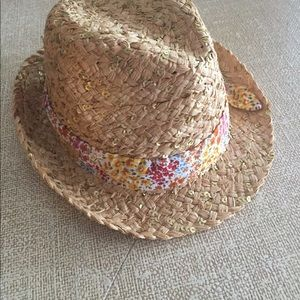 Brand New Betsey Johnson Straw Hat