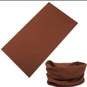 Brown Multifunctional Hat, Scarf or Face Mask