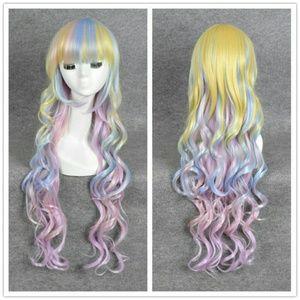 Rainbow Cosplay Wig