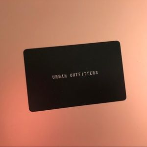 URBAN OUTFITTERS 🎁 CARD