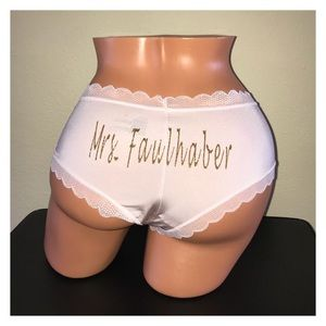 Personalized Light Pink Cheeky Panty