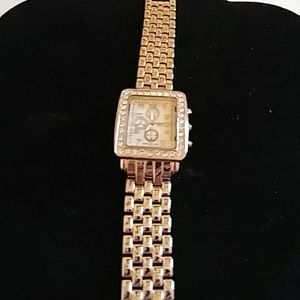 Sophie 3 time zone with rhinestone watch