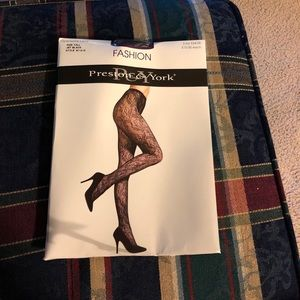 Preston & York Openwork Lace Hose