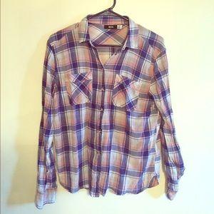 Linen flannel